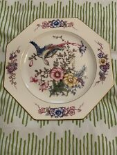 Rosenthal Ivory Phoenix Octagonal Luncheon Plate - 9 Inch