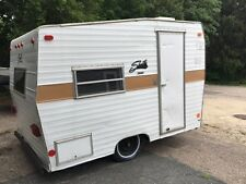 1969 Shasta Compact Vintage Camper Trailer with Gas/Elec Fridge, Clean