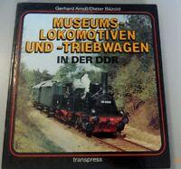 Museums-Lokomotiven und -Triebwagen in der DDR GDR* 1986