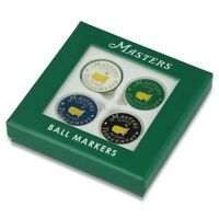NEW 2021 Masters Tournament 4-Pack Ball Marker Set Augusta National Golf Club