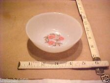 """1 VINTAGE FIRE KING OVEN WARE BERRY ICE CREAM BOWL 4 5/8"""" X 1 1/2"""" MADE IN USA"""