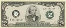 Bankbiljet billet Amerikaanse presidenten - 17 - Andrew Johnson 1865/1869