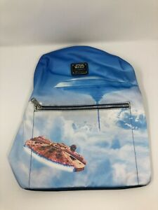 NWT Loungefly Star Wars Millennium Falcon Cloud City Backpack Rucksack Bag Tote