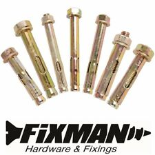 WALL ANCHOR FIXINGS Small - Large Sleeve/Cavity Bolts Expansion Plasterboard