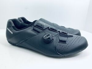 Shimano RC3 RC300 Black Road Cycling Shoes BOA Lace System Mens Size 10.5 EUR 45