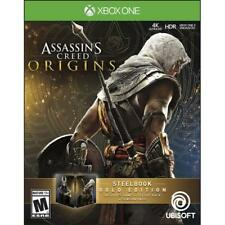 Assassin's Creed: Origins -- SteelBook Gold Edition (Microsoft Xbox One, 2017)