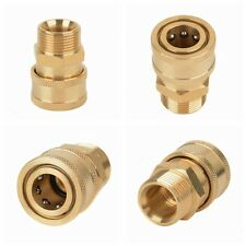 """3/8"""" Quick Release Adapter Connect to M22 Metric Thread For Pressure Washer Hose"""