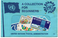 United Nations Stamps for Peace - A Collection for Beginners. MNH 9 stamps