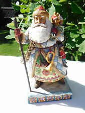 Jim Shore Santa w/Cane & Bag of Toys Figurine ~ Bringing Christmas Joy ~ 4005447