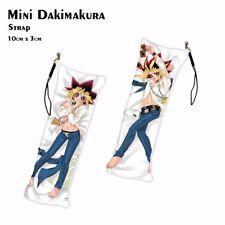 Yu Gi Oh Yugi Muto Mini Dakimakura Anime Keychain Phone Strap Bag Hanging
