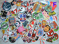 100pcs Graffiti bomb Vinyl Decals Dope Car Skateboard Laptop Luggage Sticker Mix