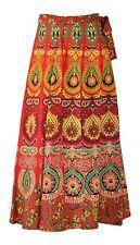 Indian Mandala Wrap Skirt Boho Hippie Evening Dress Cocktail Party Wear Summer