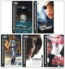 Angelina Jolie 5 telefoonkaarten/télécartes  (AJ112-5c)