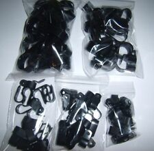 (10) Power Wire Cable Clamp Tie Down Holders Combo Pack