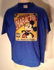 Disney Store American Classic Mickey Mouse Amazing Character Medium T-Shirt