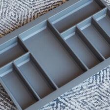 Grey Textured Cutlery Tray for 800mm Drawer | Grass Scala | Kitchen Storage