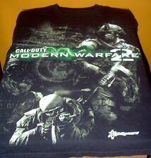 2009 Call of Duty Modern Warfare 2 Video Game Black T-Shirt Free US Shipping