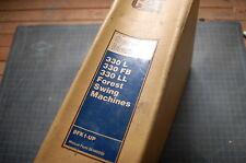 CAT Caterpillar 330 L FB LL Forest Swing Machine Service Manual repair excavator