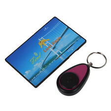 Wireless Lost Key Finder Locator Find Locater Alarm Keychain 25m Y8V9