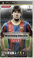 Sony PSP Konami World Soccer Winning Eleven 2011 Japan Import