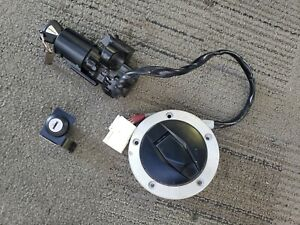 16-20 KAWASAKI NINJA ZX10R ZX10 LOCK SET IGNITION LOCK KEY GAS CAP TRUNK OEM