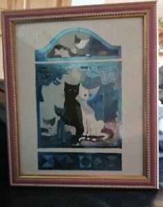 Rosina Wachtmeister Framed Cats  Print