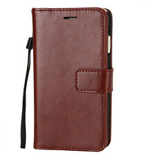 For iPhone 7 / 7 Plus Leather Wallet Card Holder Flip Dual Case Cover