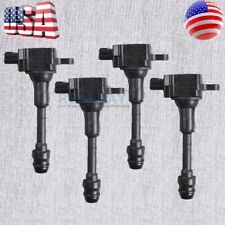 4pcs OEM Ignition Coil Fits Nissan 2002- 2006 Altima and Sentra OEM 22448-8H315