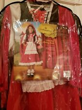 Girls size 4 Little Red Riding Hood By In Character Halloween Costume