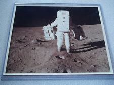 Apollo 11 Vintage NASA Moon Photo