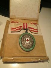 RR Rare Austrian ladies' Red Cross order medal PATRIAE AC HUMANITATI 1864-1914