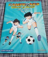 CAMPEONES OLIVER Y BENJI CAPTAIN TSUBASA VOL 4 - DVD SLIMCASE CARTON BUEN ESTADO