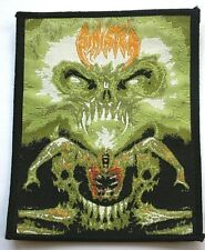 SINISTER Diabolical Summoning Woven Patch/Aufnäher/écusson/Parche Death Metal