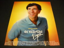 Jason Flum is the 44 Year Old Virgin original 2005 Promo Poster Ad mint cond