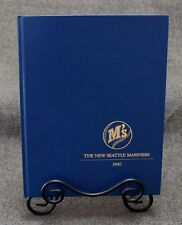 The New Seattle Mariners 1990 Season Date Book Hardbound Full Color VERY RARE