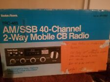 REALISTIC TRC-465 40 CHANNEL AM SSB CB TRANSCEIVER WITH MICROPHONE