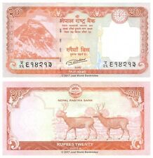 Nepal 20 RUPEES 2016 (2017) P-NUOVE BANCONOTE UNC