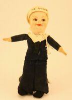 VINTAGE NORA WELLINGS SS AMERICA SAILOR BOY DOLL - PRE WW II