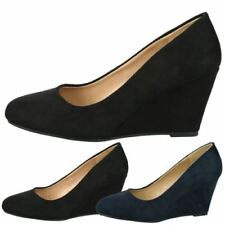 High (3 in. and Up) Wedge Slip On Heels for Women