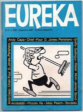 EUREKA N.2 editoriale corno 1967 andy capp james bond agente 007 four d. jones