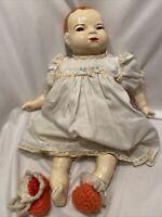 "1920s Antique Grace S Putnam Bye-Lo Baby Doll GERMAN Rare 16"""