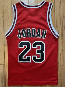 Chicago Bulls Champion Jersey Michael Jordan Youth Small 8 New With Tags