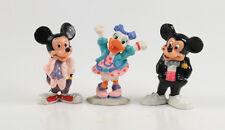 Micky Maus + Daisy === Walt Disney 3 modern clubhouse Figuren Applause
