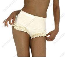 141 Latex Rubber Gummi Ruffles Shorts undies underwear briefs customized 0.4mm