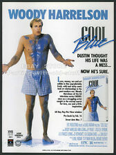 COOL BLUE__Orig. 1990 Trade print AD / movie promo__WOODY HARRELSON__ELY POUGET