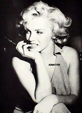 MARILYN MONROE PIN-UP POSTER IN DEEP THOUGHT RARE TOUGH TO FIND PHOTO!!