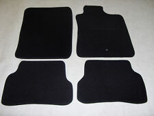 Renault Clio 2006-09 Fully Tailored Deluxe Car Mats in Black