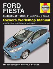 Ford Fiesta Repair Manual Haynes Manual  Workshop Service Manual  2008-2011 4907