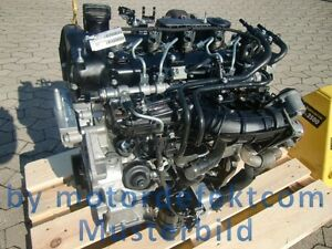 Motor  für Mercedes Benz E 400 cdi/628.961 Austauschmotor -teilüberholt-