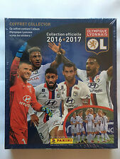 COFFRET EDITION COLLECTOR PANINI OLYMPIQUE LYONNAIS 2016 2017 NEUF SOUS BLISTER